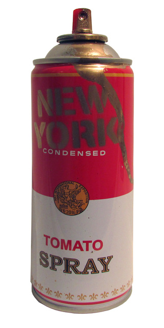 Mr. Brainwash, 'Spray Can: New York (Gold)', 2016, Taglialatella Galleries