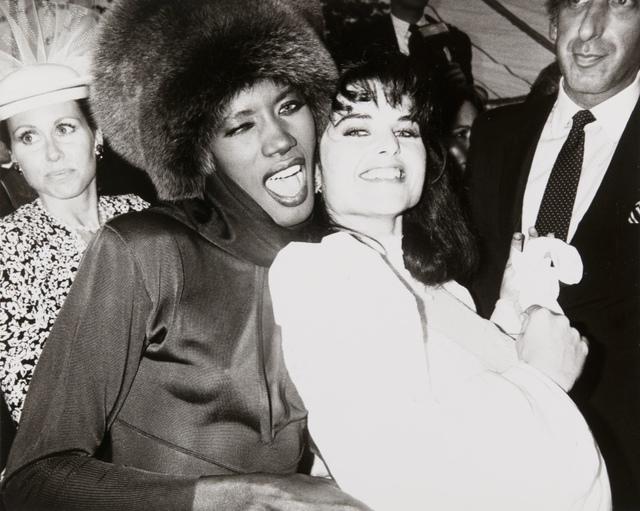 , 'Andy Warhol, Photograph of Grace Jones & Maria Shriver Schwarzenegger, 1986,' 1986, Hedges Projects