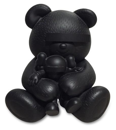 KAWS, 'KAWS X JUN TAKAHASHI UNDERCOVER BEAR BLACK', 2009, Marcel Katz Art