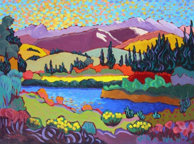 ", '""Western Mountain Stream"",' , Bonner David Galleries"
