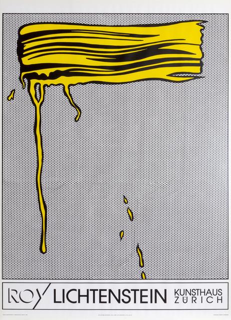 Roy Lichtenstein, 'Yellow Brushstroke', 1990, RoGallery