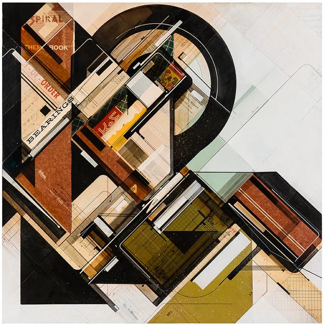 , 'Bearings organized,' 2015, Jonathan LeVine Projects