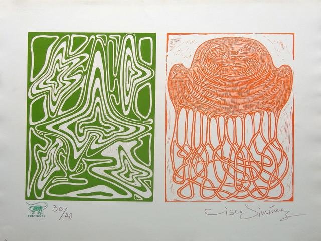 , 'Diptico verde-naranja,' 2011, Ruiz-Healy Art