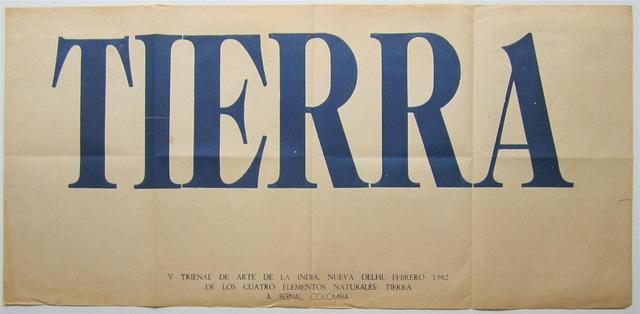 , 'Tierra,' 1982, Casas Riegner