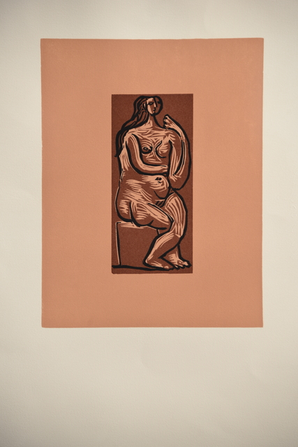 Pablo Picasso, 'Femme Nue Assise', 1962, Odon Wagner Gallery