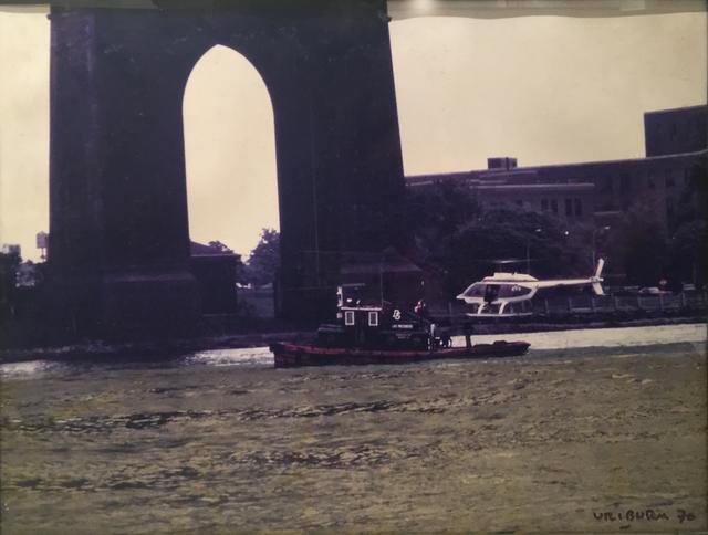 , 'East River Coloration, New York,' 1970, Herlitzka + Faria
