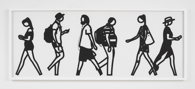 , 'Walking in Melbourne 6,' 2018, Alan Cristea Gallery