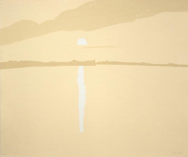 Alex Katz, 'Sunset: Lake Wesserunsett 4', 1972, Heather James Fine Art