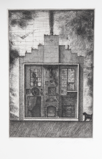 Brodsky & Utkin, 'House with Stag's Head from Brodsky and Utkin: Projects 1981 - 1990', 1990, RoGallery
