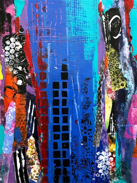 , 'Urbanite Musing,' 2017, Light Space & Time