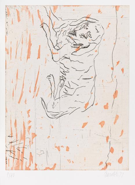 ", 'Pluto, from ""Schlafende Hunde"",' 1998-1999, Gagosian"
