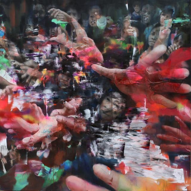 Li Tianbing, 'Urban Scene #2', 2018, Painting, Oil on canvas, Cuturi Gallery