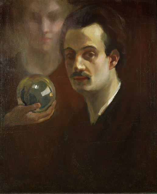 , 'Self Portrait with Cristal Ball and Muse,' , Museo Soumaya