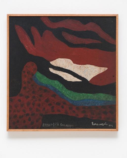 , 'Erupção Solar,' 1992, Bergamin & Gomide