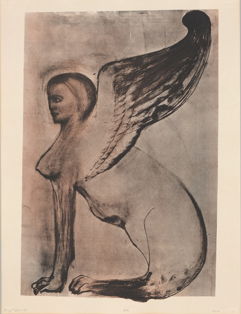 , 'Winged Sphinx I,,' 1972, The Metropolitan Museum of Art