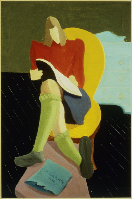 Milton Avery, 'Homework', 1946, ARS/Art Resource