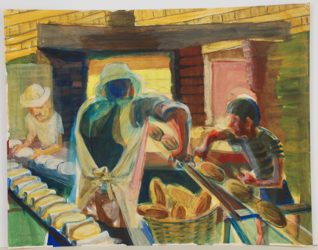 , 'Bakery in Mexico,' 1987, Sragow Gallery