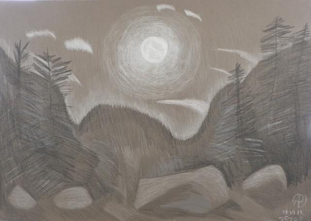 Pieter Vanderbeck, 'Night at Slant Rock', Keene Arts