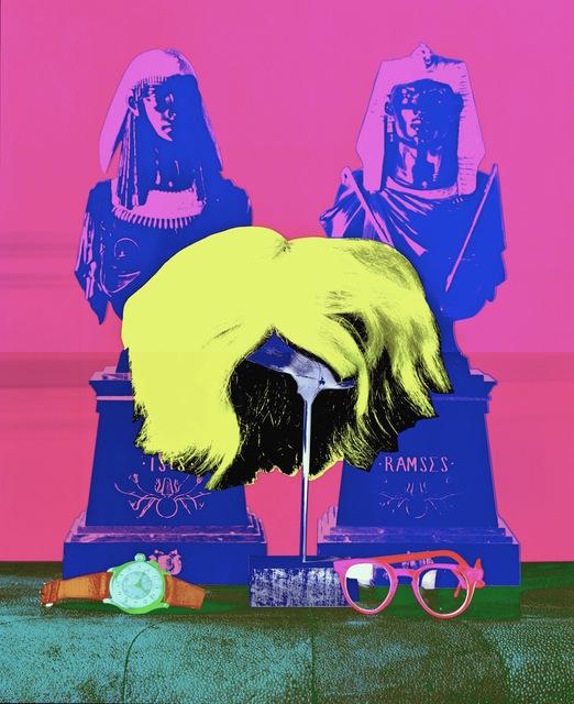 , 'Wig, Glasses & Watch  ,' 1997, Hilton Asmus