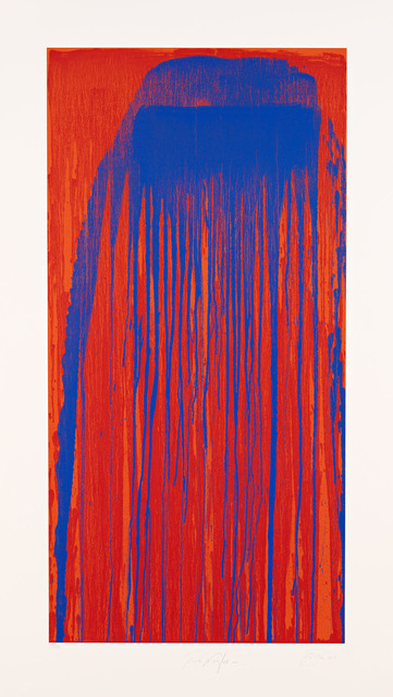 , 'Peacock Waterfall,' 2001, Pace Prints