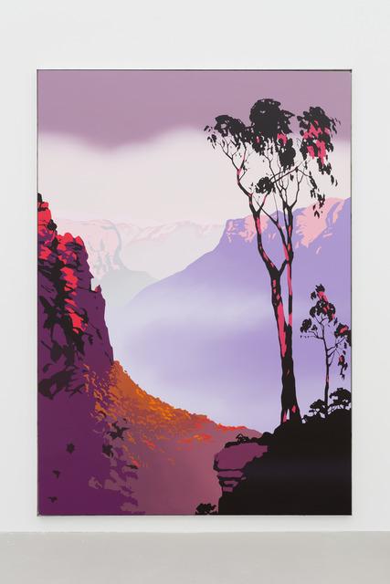 Alex Dordoy, 'The Peaks Weep (Dusk)', 2019, GRIMM