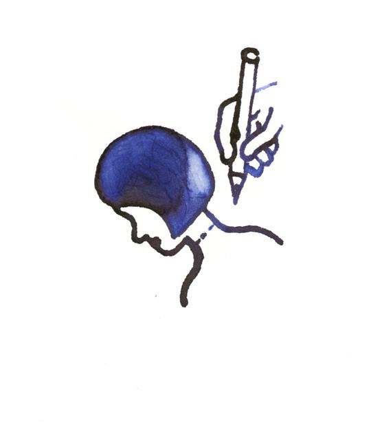 , 'Signing Neck,' , Bluerider ART