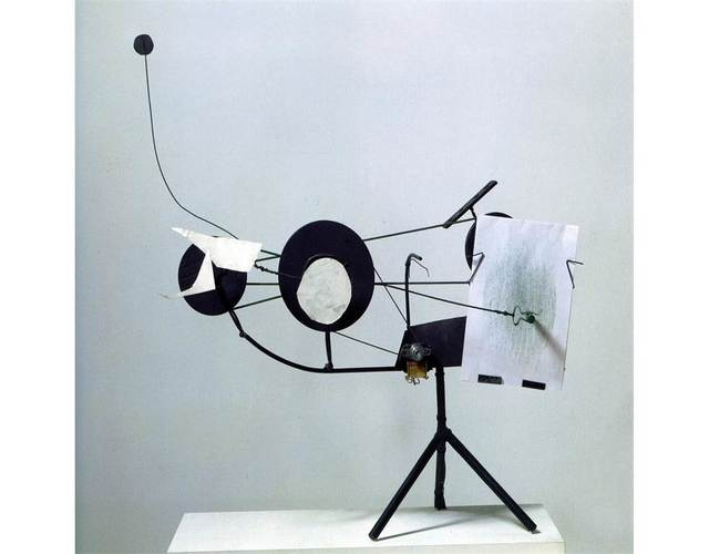 , 'Méta-matic no. 10,' 1959, Centre for Fine Arts (BOZAR)