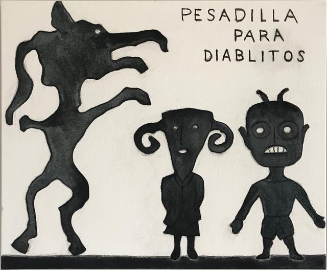 , 'Pasadilla Para Diablitos,' 2016, Galerie Camille
