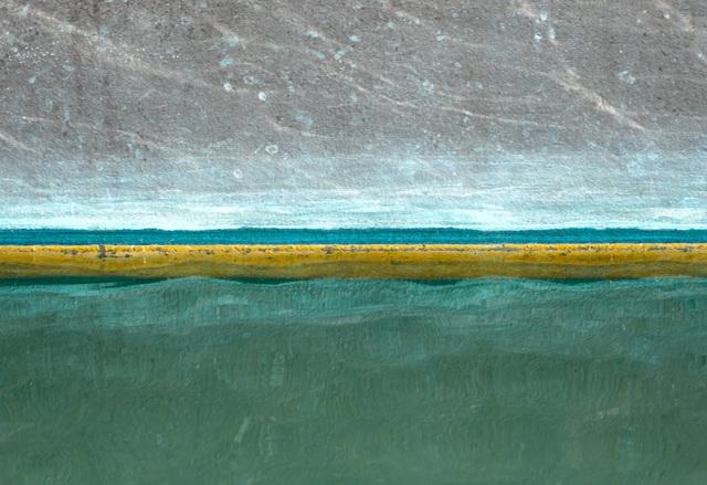 , 'Channel Islands Harbor/ Hard Yellow Line,' ca. 2018, Dab Art