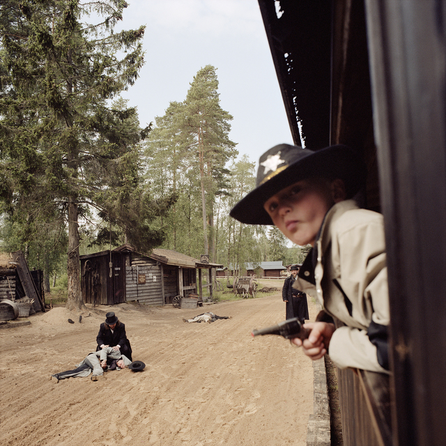 , 'Train Bandits, High Chaparral, Hillerstop, Sweden,' 2008, Circuit Gallery