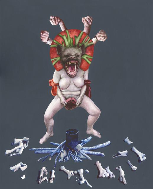 , 'The Hyenaicon / Ugly Joy / Shamelessness,' 2017, Arusha Gallery