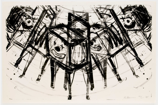 , 'T.V. Clown,' 1987-1988, Brooke Alexander, Inc.