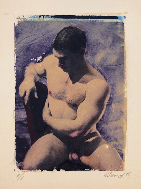 Mark Beard, 'Untitled (Man Seated on Chair)', 1998, ClampArt