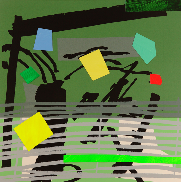 , 'Grey Grow Green,' 2015, CCA Galleries