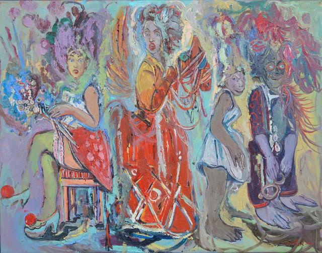 , 'Meeting,' 2016, Albemarle Gallery | Pontone Gallery