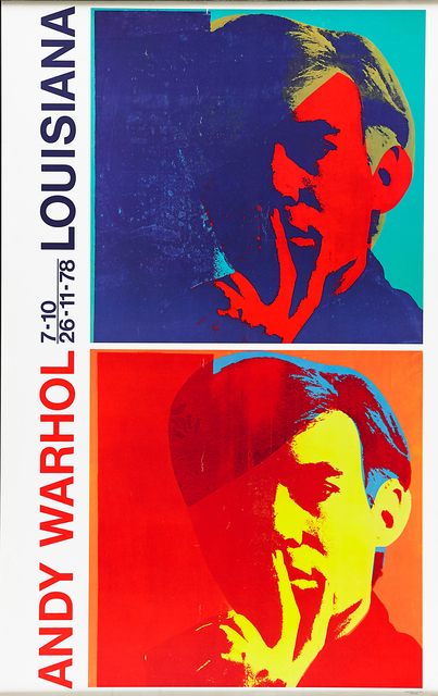 Andy Warhol, 'Louisiana Museum Denmark', 1976, Print, Offset lithograph poster, Rago/Wright