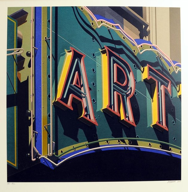 , 'Art, from American Signs Portfolio,' 2009, IFAC Arts