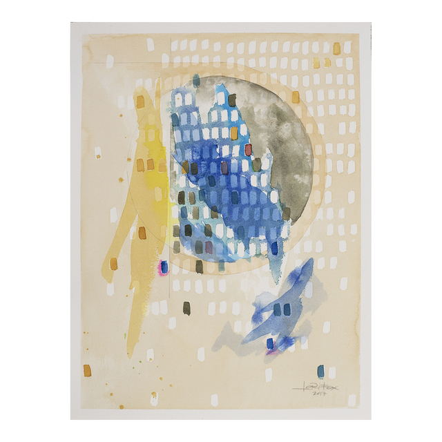 ", 'Waning Crescent ""Recuperate"",' 2017, Jen Mauldin Gallery"