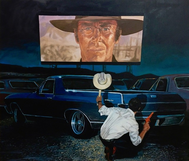 , 'Shoot Out at the Drive In,' 2017, Visions West Contemporary