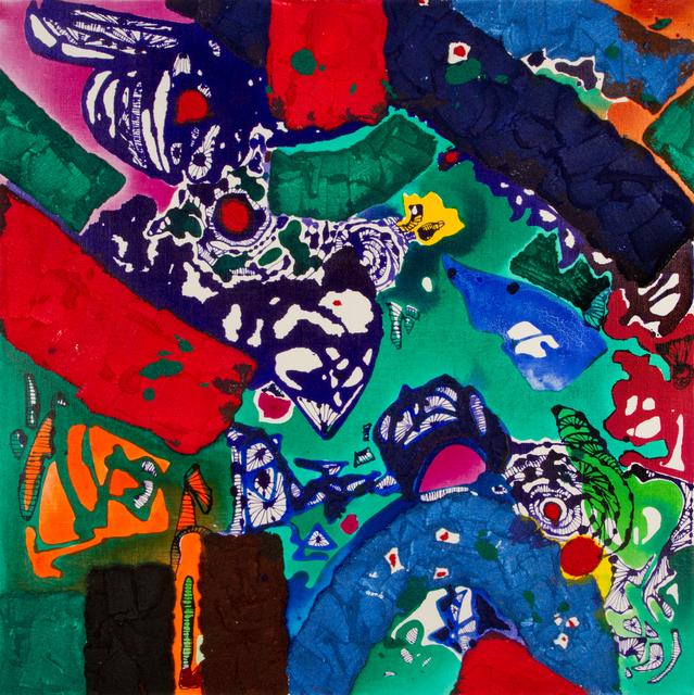 , 'Spiritual moving - Blue Diamond,' 2015, Gallery Pakyoung
