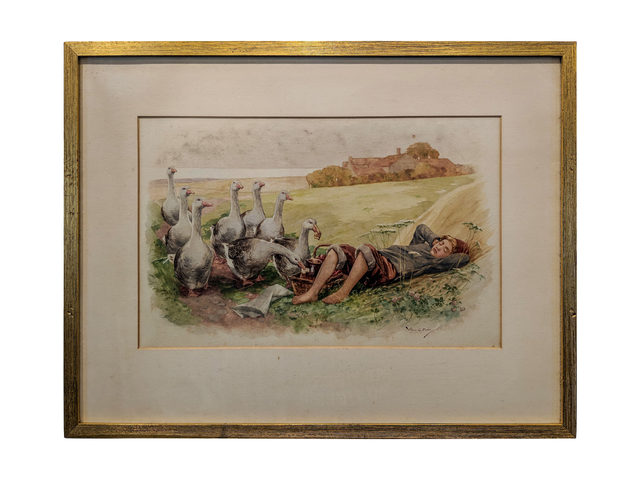William G Miller, 'Sleeping Boy and Gaggle', Capsule Gallery Auction