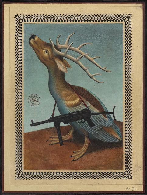 , 'Deer Duck Creature Grease Gun,' 2017, Black Book Gallery