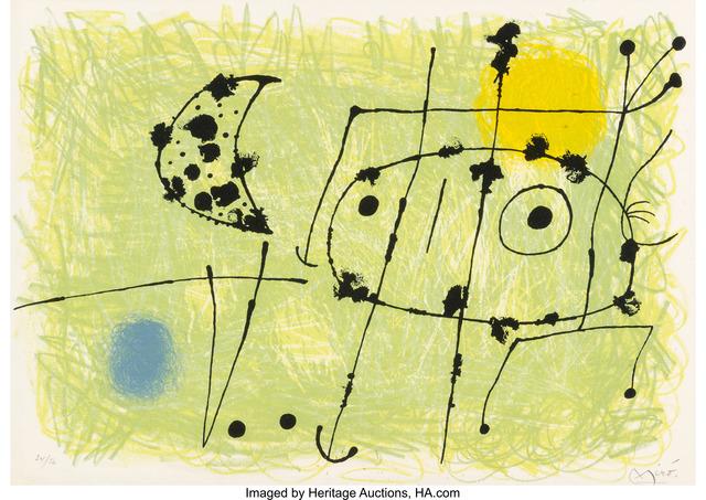 Joan Miró, 'Le Lazard aux plumes d'or', 1967, Heritage Auctions