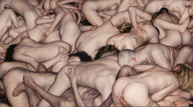 , 'Small Orgy,' 2015, Jonathan LeVine Projects