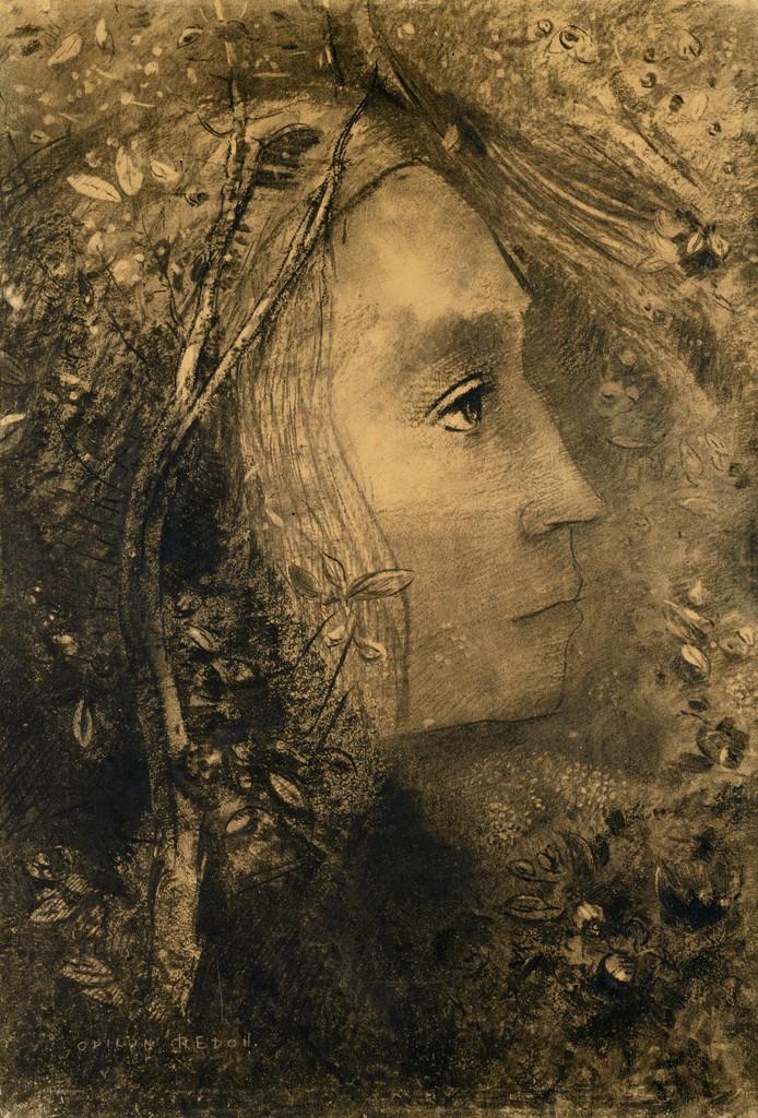 Odilon Redon   Le Cyclope (The Cyclops) (ca. 1914)   Artsy