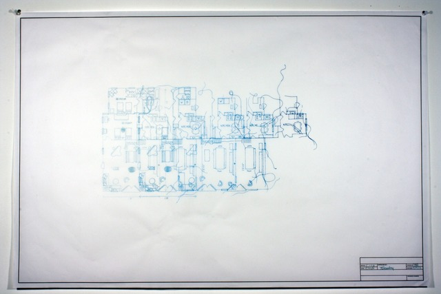 , 'Architectural Plan IIA,' 2012, Adah Rose Gallery