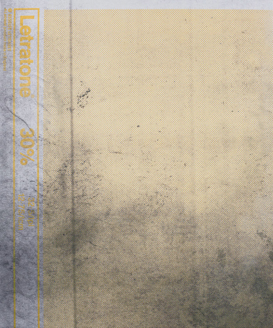 , 'E.H.D (Letratone yellow #2),' 2015, Berthold Pott