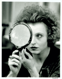 Hanna Schygulla, actress in Rainer Werner Fassbinder's movie Berlin Alexanderplatz Munich 1980