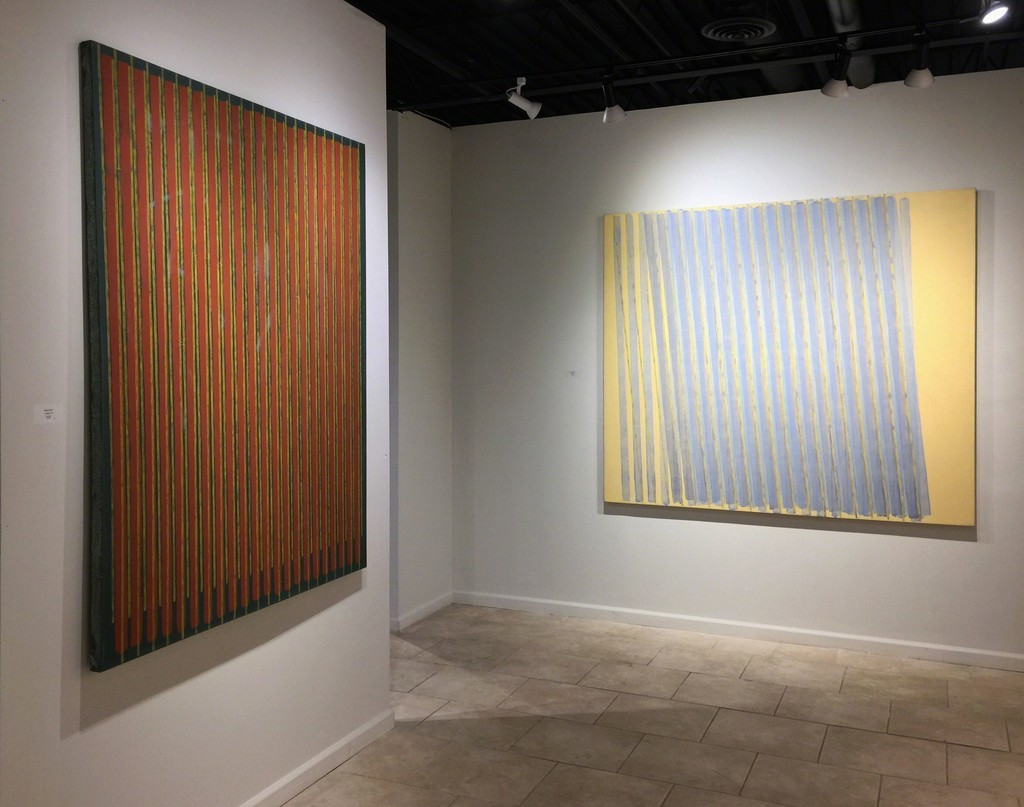 Anthony Greco: Paintings from the 1970s. Left to Right: 314/Eight, 314/Nineteen