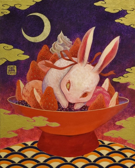 , 'Kiicho white rabbit strawberry sweets,' 2017, SEIZAN Gallery
